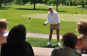 womens golf power of positive thinking